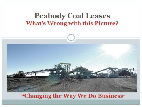 peabody coal mine black mesa