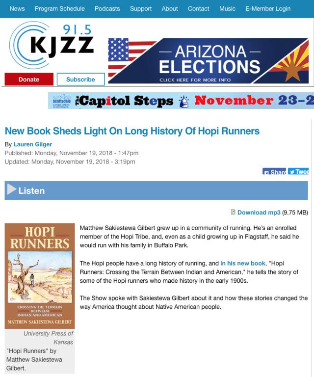 Hopi Runners - KJZZ